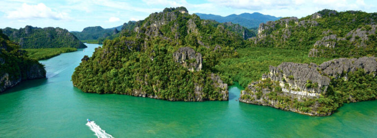 Kilim River Estuary Opens Up To Andaman Sea